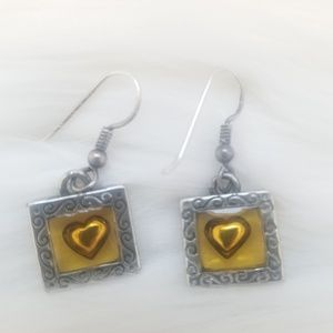 GUC Brighton Heart Box Earrings